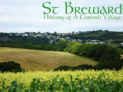 Village of St Breward Cornwall.