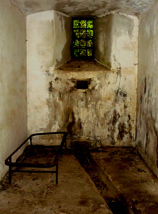Bodmin Jail Prison Cell.