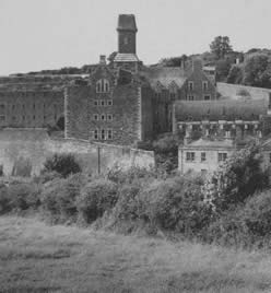 Vintage photo Naval Block, Bodmin Jail