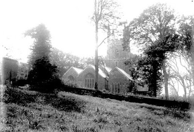 St. Olaf's Church at Poughill c.1890
