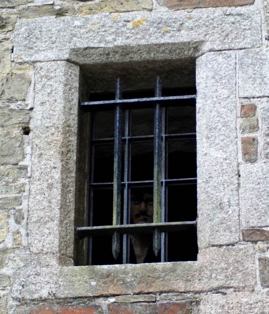Ghostly faces in Bodmin Jail
