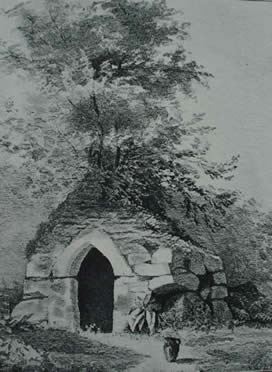 Quiller Couch's drawing St Breward Holy well.